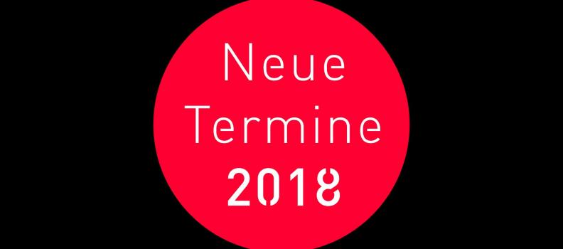 KLANGWELTEN LIVE: NEUE TERMINE 2018