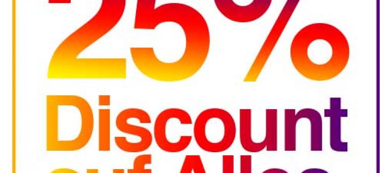 SCHILLER–SHOP.COM: 25% AUF ALLES