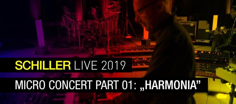 SCHILLER LIVE 2019: MICRO CONCERT #1