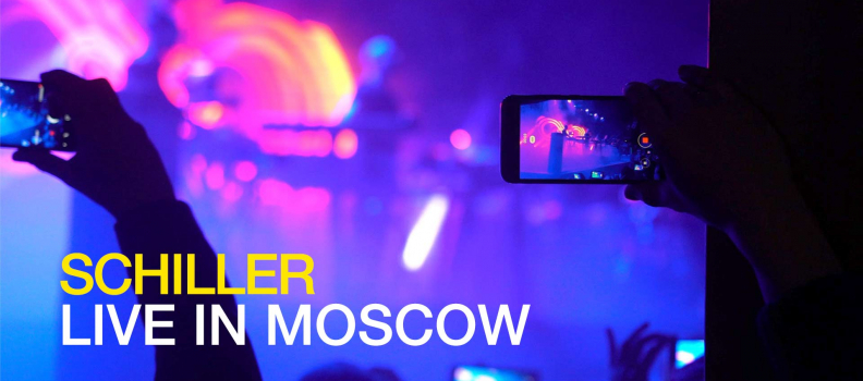 FEATURETTE: SCHILLER LIVE IN MOSCOW